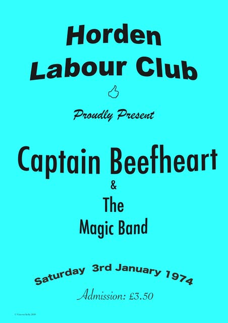 Captain Beefheart Poster