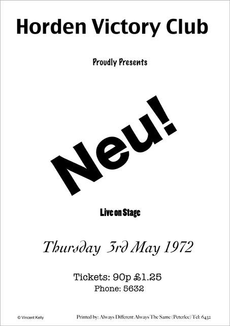 NEU poster