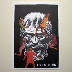 eyes down flyer