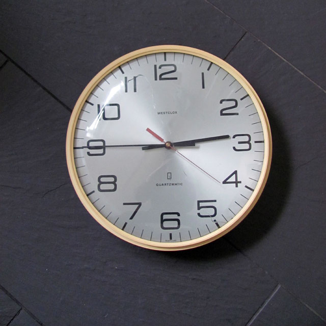 School hall clock - Bought 2010