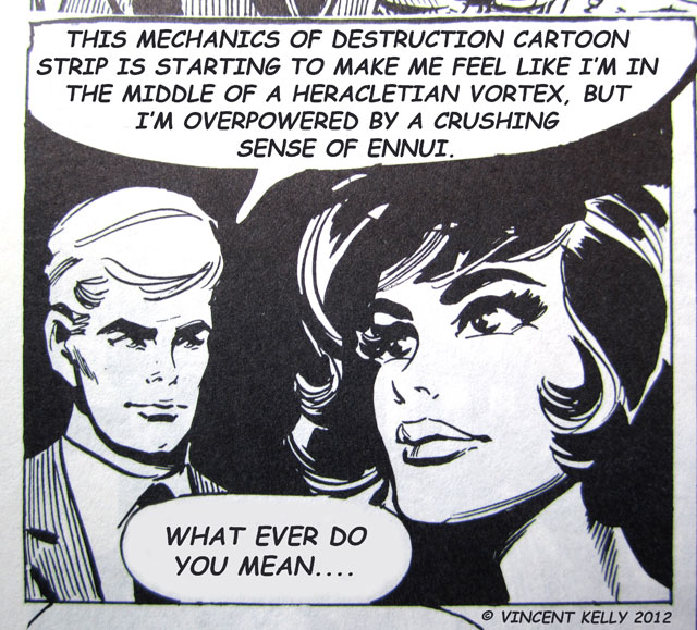 The Mechanics Of Destruction Cartoon Strip